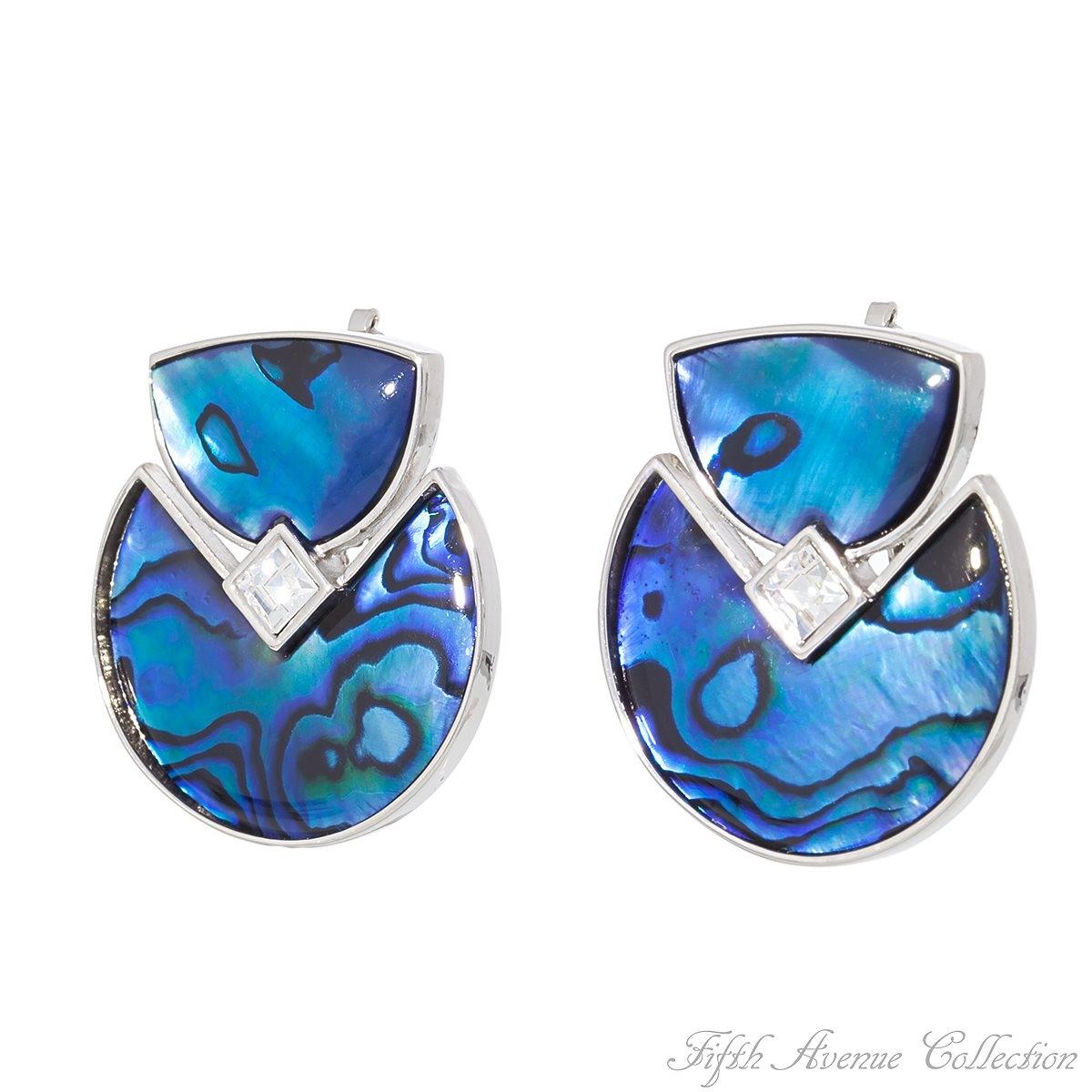 Blue Paua Shell